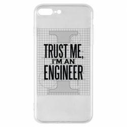 Чохол для iPhone 8 Plus Довірся мені я інженер