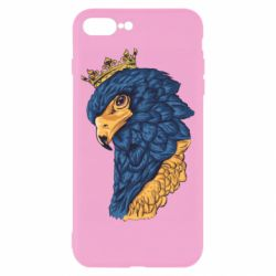 Чехол для iPhone 8 Plus Eagle with a crown on its head