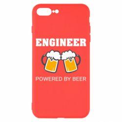 Чохол для iPhone 8 Plus Engineer Powered By Beer