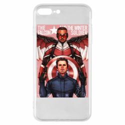 Чохол для iPhone 8 Plus Falcon and the Winter Soldier Art