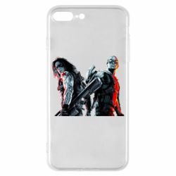 Чохол для iPhone 8 Plus Falcon and Winter Soldier