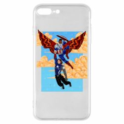 Чохол для iPhone 8 Plus Falcon holds Bucky
