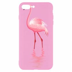 Чохол для iPhone 8 Plus Фламинго