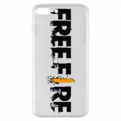 Чехол для iPhone 8 Plus Free Fire spray