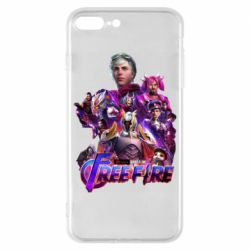 Чехол для iPhone 8 Plus Garena free avengers