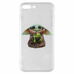 Чохол для iPhone 8 Plus Grogu and Kermit