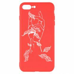 Чохол для iPhone 8 Plus Hand with leafs