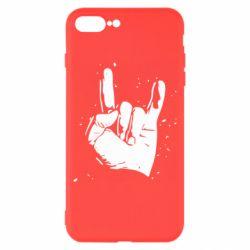 Чехол для iPhone 8 Plus HEAVY METAL ROCK