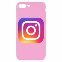Чохол для iPhone 8 Plus Instagram Logo Gradient