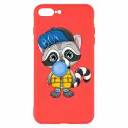 Чехол для iPhone 8 Plus Little raccoon