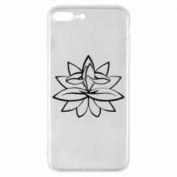Чохол для iPhone 8 Plus Lotus yoga