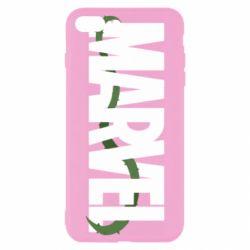Чехол для iPhone 8 Plus Marvel logo and vine