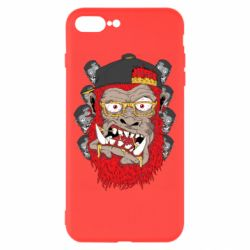 Чехол для iPhone 8 Plus Monkey Style