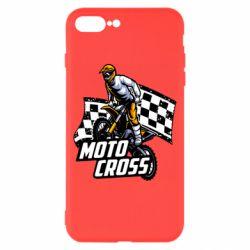 Чехол для iPhone 8 Plus Motocross