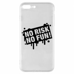 Чохол для iPhone 8 Plus No Risk No Fun