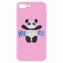 Чехол для iPhone 8 Plus Panda hugs