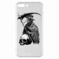 Чехол для iPhone 8 Plus Plague Doctor graphic arts