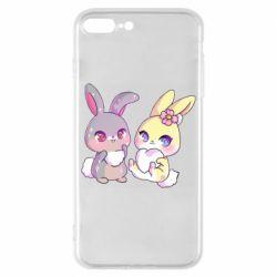 Чохол для iPhone 8 Plus Rabbits In Love