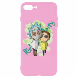 Чохол для iPhone 8 Plus Rick and Morty voodoo doll