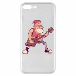 Чохол для iPhone 8 Plus Rock'n'roll Santa