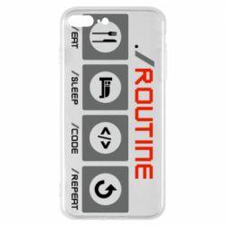 Чохол для iPhone 8 Plus Routine code