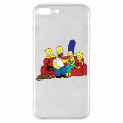 Чехол для iPhone 8 Plus Simpsons At Home