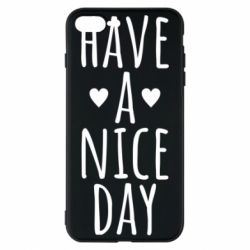 "Чохол для iPhone 8 Plus Text: ""Have a nice day"""