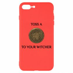 Чохол для iPhone 8 Plus Toss a coin to your witcher ( орен )