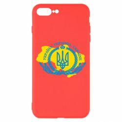 Чохол для iPhone 8 Plus Україна Мапа
