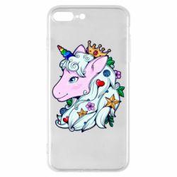 Чохол для iPhone 8 Plus Unicorn Princess