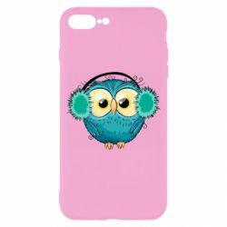 Чехол для iPhone 8 Plus Winter owl