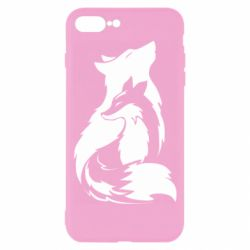 Чехол для iPhone 8 Plus Wolf And Fox