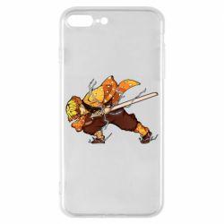 Чохол для iPhone 8 Plus Zenitsu Demon Slayer