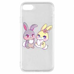 Чохол для iPhone 8 Rabbits In Love