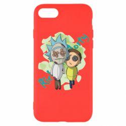 Чохол для iPhone 8 Rick and Morty voodoo doll