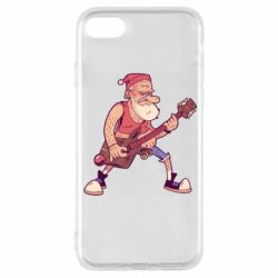 Чохол для iPhone 8 Rock'n'roll Santa