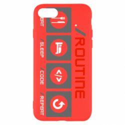 Чохол для iPhone 8 Routine code