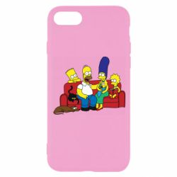 Чехол для iPhone 8 Simpsons At Home