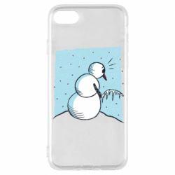 Чохол для iPhone 8 Snowman. It's Cold!