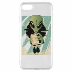 Чохол для iPhone 8 Alien with a can