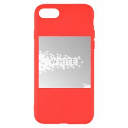 Чохол для iPhone 8 White Black Red