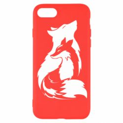Чехол для iPhone 8 Wolf And Fox