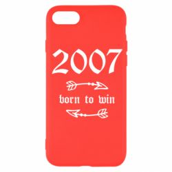 Чехол для iPhone SE 2020 2007 Born to win