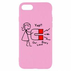 Чехол для iPhone SE 2020 2302Our love story2