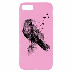 Чохол для iPhone SE 2020 A pack of ravens