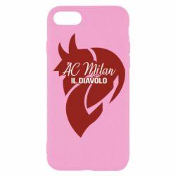 Чохол для iPhone SE 2020 AC Milan il diavolo