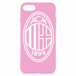 Чохол для iPhone SE 2020 AC Milan logo