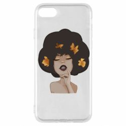 Чохол для iPhone SE 2020 Afro girl in autumn shades