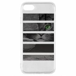 Чехол для iPhone SE 2020 All seeing cat