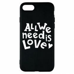Чехол для iPhone SE 2020 All we need is love